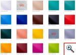 Kozetki - kolory tapicerek