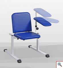 Fotel do pobierania krwi z podłokietnikiem